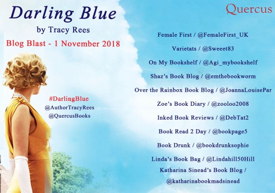 Darling Blue Blog Blast poster